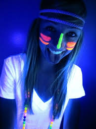 black light party outfit ideas i hope i can find some black light face paint before the dance