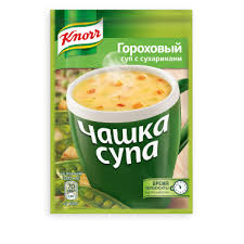 <b>Чашка</b> супа. Простые кулинарные рецепты с Knorr