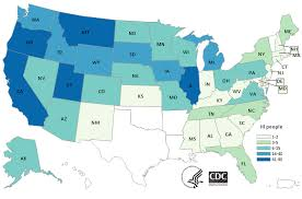 <b>Map</b> of Reported Cases | Outbreak of Salmonella Infections | July ...