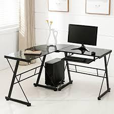 buy shape home office. Mecor Computer Desk Corner Laptop Table Workstation Home Office Furniture (Black-L Shape) Buy Shape I