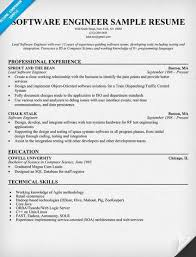 Software Engineer Resume Format Http Topresume Info Software