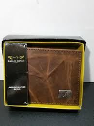 alabama crimson tide leather men s bi fold wallet by eagles wings new in box