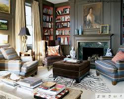 Eclectic style in interior design is: