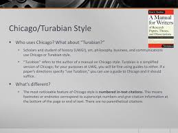 Ppt Writing Style Overview Mla Apa Chicago Turabian