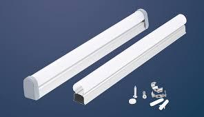 T8 Light Hot Item Aluminium Profile Shell Housing For T5 T8 Led Tube Light Sq Lst510b