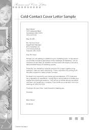 Astounding Sample Cold Contact Cover Letter 26 On Sample Cover