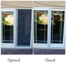 screen door for sliding glass with retractable designs
