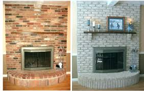 redo brick fireplace how to a covering with faux stone tile glass