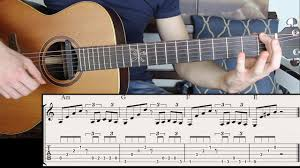 Spain Chord Chart Number One Spanish Chord Progression You Must Learn Fingerstyle Guitar Lesson