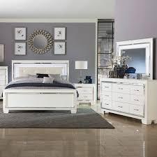 Allura White 5 PC King Bedroom | Badcock & More