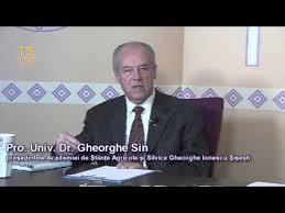 Imagini pentru Prof. dr. Gheorghe SIN