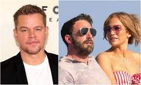 Matt Damon Calls Jennifer Lopez and Ben ...