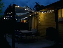 how to hang outdoor string lights on deck ideas for hanging plants baskets