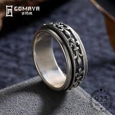 <b>GOMAYA</b> Men Women Ring Fine Jewelry Real <b>925 Sterling Silver</b> ...