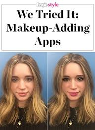 makeup app reviews modiface perfect 365 and youcam do makeup adding phone apps really work through to find out to see o beauty inspiration