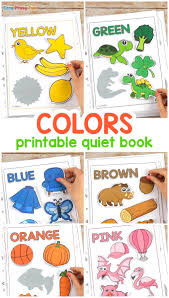 Select from 35429 printable crafts of cartoons, animals, nature, bible and many more. Printable Colors Quiet Book Easy Peasy And Fun