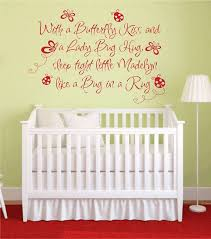 wall art design ideas with stickers for baby nursery a on baby girl wall art quotes with wall decals nursery etsy arelisapril