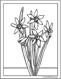 Pypus is now on the social networks, follow him and get latest free coloring pages and much more. Spring Flowers Coloring Page 28 Spring Coloring Pages