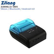 <b>ZJIANG ZJ 5805</b> Pos Terminal 58mm Bluetooth Android 4.0 POS ...