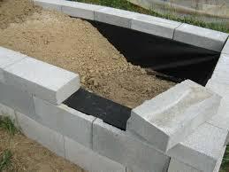 cinder block garden wall. How To Create An Awesome Raised Garden Bed Cinder Block Wall