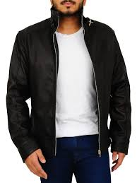 2018 trend black leather jacket attractive biker leather jacket