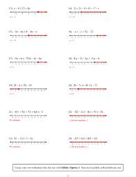 gallery of kuta infinite algebra 1 two step inequalities