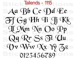 Fonts For Tattoos Collection Of 25 Fancy Lettering Tattoo On Back