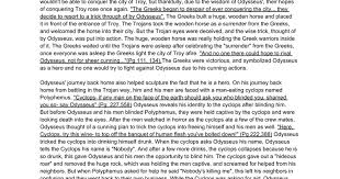epic hero essay odysseus and the sirens assignment how to  epic hero essay odysseus and the sirens