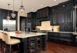 Kitchen Wall Paint Colors With Dark Cabinets Home Design and