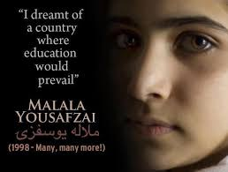 Malala Quotes Impressive Malala Yousafzai Blog Malala Yousafzai's Best Sayings Quotes