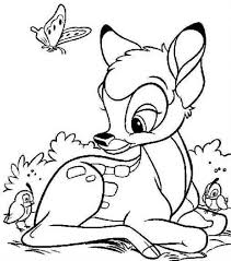 Bambi And Faline Coloring Pages Bambi And Faline Coloring Pages