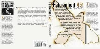 fahrenheit 451 book jacket by vicki2314