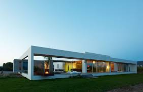 Minimalist Housing Exquisite Minimialist House Blends Easily With Natural  Surroundings .
