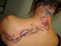 татуировки для девушек на спине идеи и фото