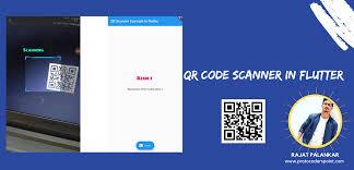 QR Code scanner in flutter application ...