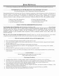 Marketing Resume Sample Pdf Best Of Cover Letter Sales And