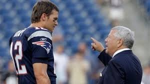 Image result for robert kraft with tom brady