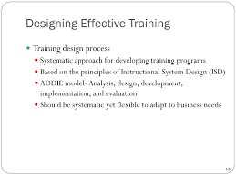 Designing And Implementing Training Programs Introduction To Employee Training And Development Chapter 1