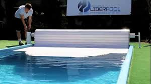 pool cover roller shutter liderpool manual with crank