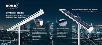 Solar Lighting System Design Intelligent Solar Powered Led Lighting With Self Cleaning