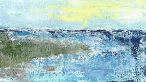 Lakescape 1 Painting by Cheryl Rhodes
