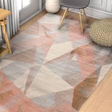 modern geometric rug pattern