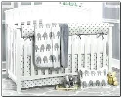 grey and white baby bedding grey and white crib bedding elephant for boys beds home design grey and white baby bedding