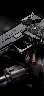 Cool black gun