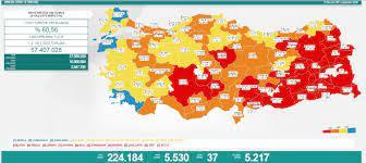 10 Temmuz Cuma koronavirüs tablosu açıklandı! 10 Temmuz Cuma günü  Türkiye'de bugün koronavirüsten kaç kişi öldü, kaç kişi iyileşti? - Haberler