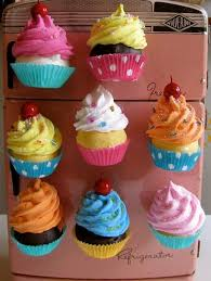Cupcake Kitchen Accessories Decor New Cupcake Magnets Magnets Pinterest Magnets Kitchens And