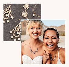 dual image of brides and jewelry sets