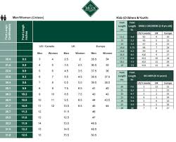Muck Boots Size Chart Outdoor Equipped