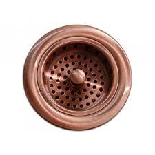 Kitchen Basket Kitchen Bar Copper Sink Basket Strainer 35 Inch