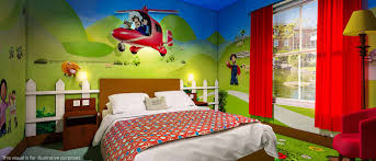 Octonauts Bedroom Wallpaper Themed Rooms At The Alton Towers Resort Accommodation